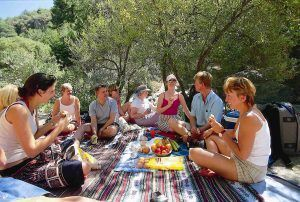 Secrets of Andalucia Picnic lunch