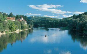 Canoeing on the Dordogne 08