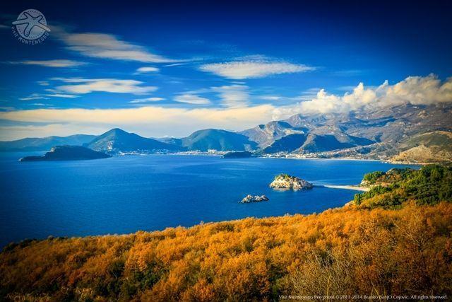 Adriatic Coastline of Montenegro