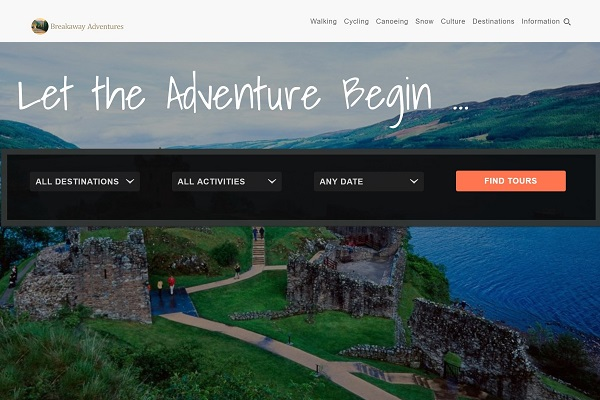 Breakaway Adventures New Website