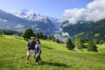 Classic Swiss Alps Walk