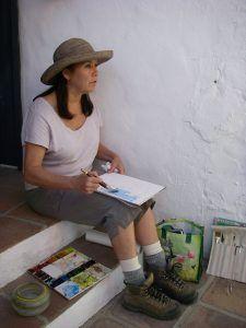 Tammy Watercolor demo