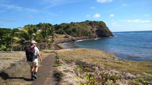 Exploring the French Caribbean Walk