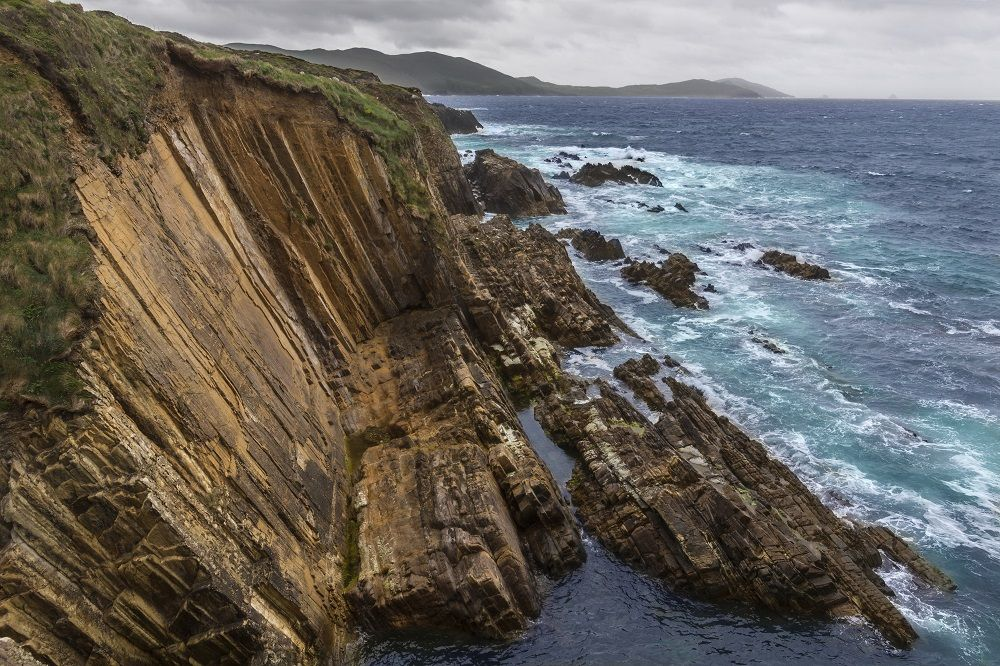 Picture of the coastline of the Beara Peninsula Ireland