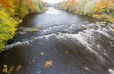 River Wye in Autumn