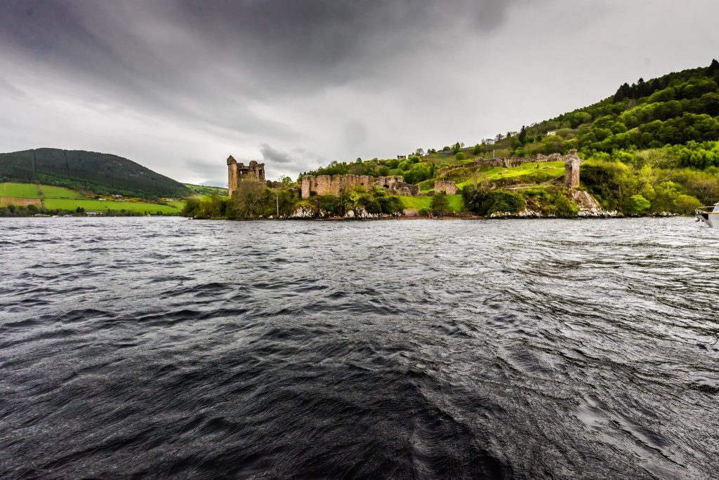 View of the Urquhart Castle