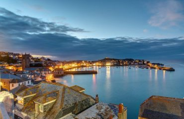 Twilight-at-the-beautiful-seaside-town-of-St-Ives-Cornwall